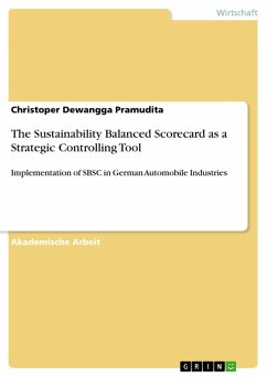 The Sustainability Balanced Scorecard as a Strategic Controlling Tool (eBook, PDF)