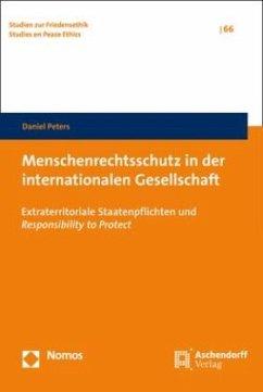 Menschenrechtsschutz in der internationalen Gesellschaft - Peters, Daniel