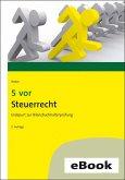 5 vor Steuerrecht (eBook, ePUB)