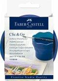 Faber-Castell Wasserbecher Clic & Go, faltbar