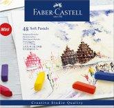 Faber-Castell Softpastellkreiden Mini, 48er Set