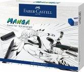 Faber-Castell Tuschestifte Pitt Artist Pens, Manga Starter Set