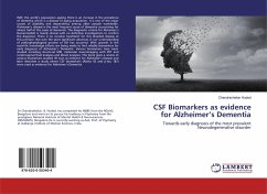 CSF Biomarkers as evidence for Alzheimer's Dementia