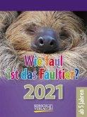 Wie faul ist das Faultier? 2021