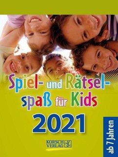 Spiel- und Rätselspaß für Kids 2021