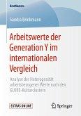Arbeitswerte der Generation Y im internationalen Vergleich (eBook, PDF)