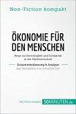 Ökonomie für den Menschen. Zusammenfassung & Analyse des Bestsellers von Amartya Sen (eBook, ePUB)