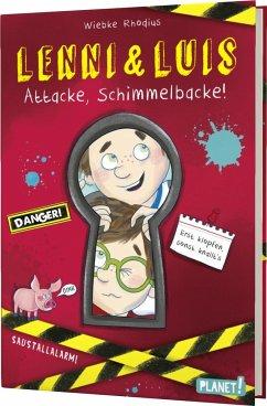 Attacke, Schimmelbacke! / Lenni & Luis Bd.1 (Mängelexemplar) - Rhodius, Wiebke