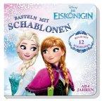 Disney Die Eiskönigin - Basteln mit Schablonen (Mängelexemplar)
