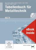 eBook inside: Buch und eBook Tabellenbuch für Metalltechnik