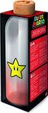 Super Mario Glasflasche Stern (1030 ml)