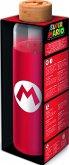 Super Mario Glasflasche mit Silikon (585 ml)