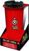 Super Mario Thermo Reisebecher Edelstahl (425 ml)