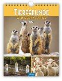 """Wochenkalender """"Tierfreunde"""" 2021"""