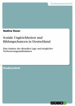 Soziale Ungleichheiten und Bildungschancen in Deutschland (eBook, PDF)