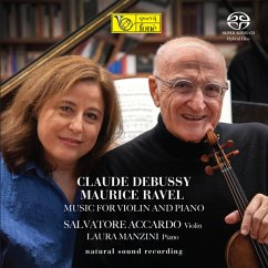 Music For Violin And Piano (Natural Sound Recordin - Accardo,Salvatore & Manzini,Laura
