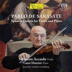 Spanish Dances For Violin And Piano (Natural Sound - Accardo,Salvatore & Manzini,Laura
