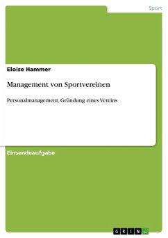 Management von Sportvereinen (eBook, PDF)