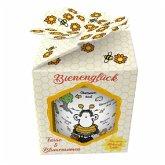 """Tasse & Blumensamen Bienenglück """"Ohne Bienen ist alles doof"""""""