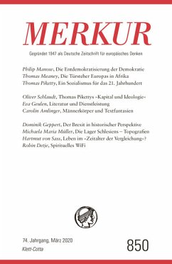 MERKUR Gegründet 1947 als Deutsche Zeitschrift für europäisches Denken - MERKUR Dt. Zeitschrift für europ. Denken