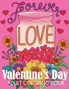 Valentine's Day Adult Coloring Book - Dylanna Press