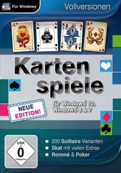 Kartenspiele für Windows 10, 8 & 7 - Neue Edition