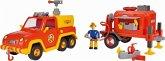 Simba 109251086 - Feuerwehrmann Sam Venus mit Anhänger und Figur