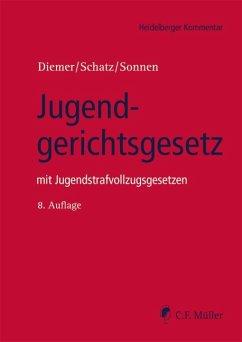 Jugendgerichtsgesetz - Diemer, Herbert;Schatz, Holger;Sonnen, Bernd-Rüdeger