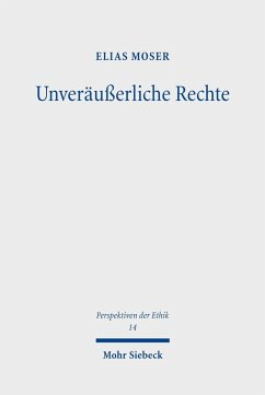 Unveräußerliche Rechte (eBook, PDF) - Moser, Elias