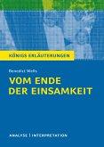 Vom Ende der Einsamkeit. Königs Erläuterungen. (eBook, ePUB)
