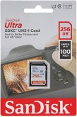 SanDisk Ultra SDXC UHS-I 256GB 100MB/s Cl.10 SDSDUNR-256G-GN6IN