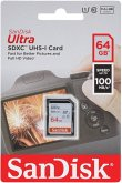 SanDisk Ultra SDXC UHS-I 64GB 100MB/s Cl.10 SDSDUNR-064G-GN6IN