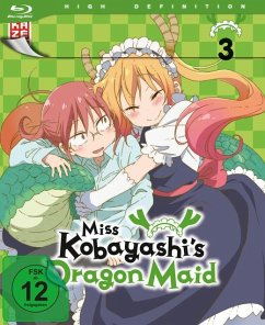 Miss Kobayashi's Dragon Maid - Vol. 3