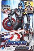 Hasbro E3358EW0 - Marvel Avengers: Endgame, Elektronischer Captain America mit 20+ Sounds und Sätzen, Action-Figur, 33 cm