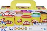Hasbro A7924EUC - Play-Doh, Super Farbenset, 20er-Pack, Knete