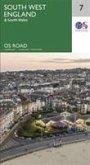 Ordnance Survey Maps Straßenkarte Bl.7 South West England & South Wales