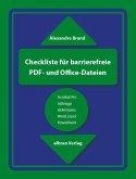 Checkliste für barrierefreie PDF- und Office-Dateien (eBook, ePUB)