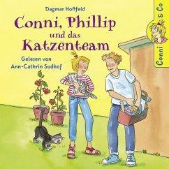 Conni, Phillip und das Katzenteam / Conni & Co Bd.16 (2 Audio-CDs)
