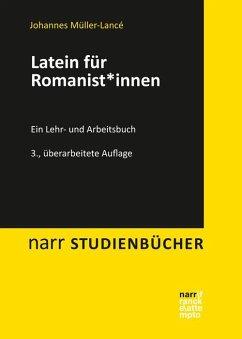 Latein für Romanist*innen - Müller-Lancé, Johannes