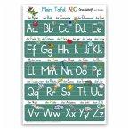 Mein Tafel-ABC Grundschrift mit Artikeln Lernposter DINA 3 laminiert