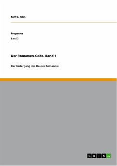 Der Romanow-Code. Band 1 (eBook, PDF)