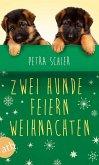 Zwei Hunde feiern Weihnachten (Mängelexemplar)
