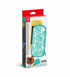 Nintendo Switch Lite Tasche (Animal Crossing) & Schutzfolie