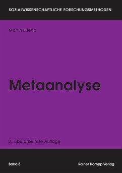 Metaanalyse (eBook, PDF) - Eisend, Martin