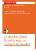 Beiträge zur Verbraucherforschung Band 10 Verbraucherbildung (eBook, PDF)