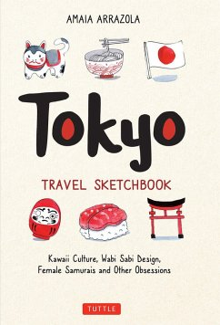Tokyo Travel Sketchbook (eBook, ePUB) - Arrazola, Amaia