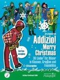 """Addizio! Merry Christmas """"36 Weihnachtslieder für Bläser in Klassen, Gruppen, Ensembles"""", Altsaxophon in Es (+ Baritonsaxophon in Es)"""