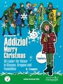 """Addizio! Merry Christmas """"36 Weihnachtslieder für Bläser in Klassen, Gruppen, Ensembles"""", B-Trompete"""