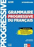 Grammaire progressive du français - intermédiaire. Schülerbuch + Audio-CD + Online