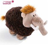NICI 45310 - Mammut 45 cm, Stone Age Friends, Kuscheltier, Plüschtier